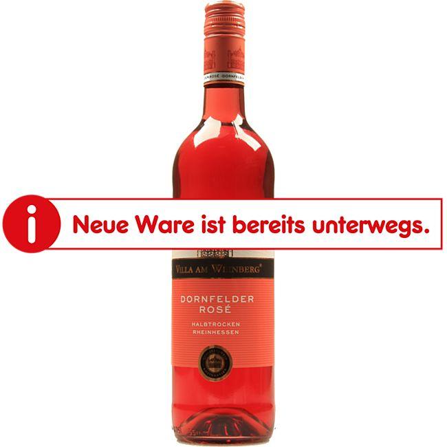 Villa am Weinberg Dornfelder Rosé QbA 11,0 % vol 0,75 Liter - Bild 1