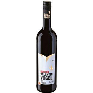Edition Valentin Vogel Rotwein Qualitätswein Pfalz trocken 13,0 % vol 0,75 Liter - Bild 1