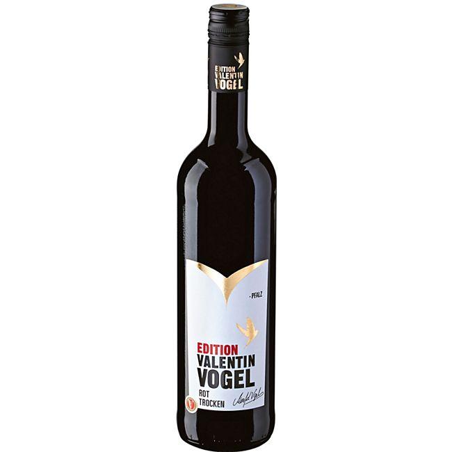 Valentin Vogel Rot QbA 13,0 % vol 0,75 Liter - Bild 1