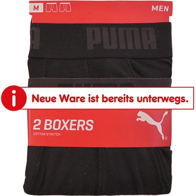 Puma Herren Retroshorts, 2er Pack, schwarz, Gr. M - Bild 1