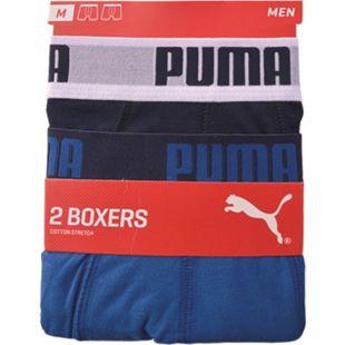 Puma Herren Retroshorts, 2er Pack, Farbe 420 true blue, Gr. L - Bild 1