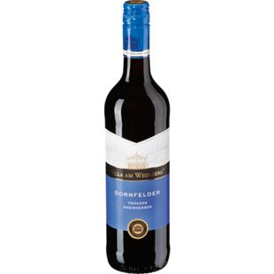 Dornfelder Rotwein QbA trocken 12,0 % vol 0,75 Liter - Bild 1