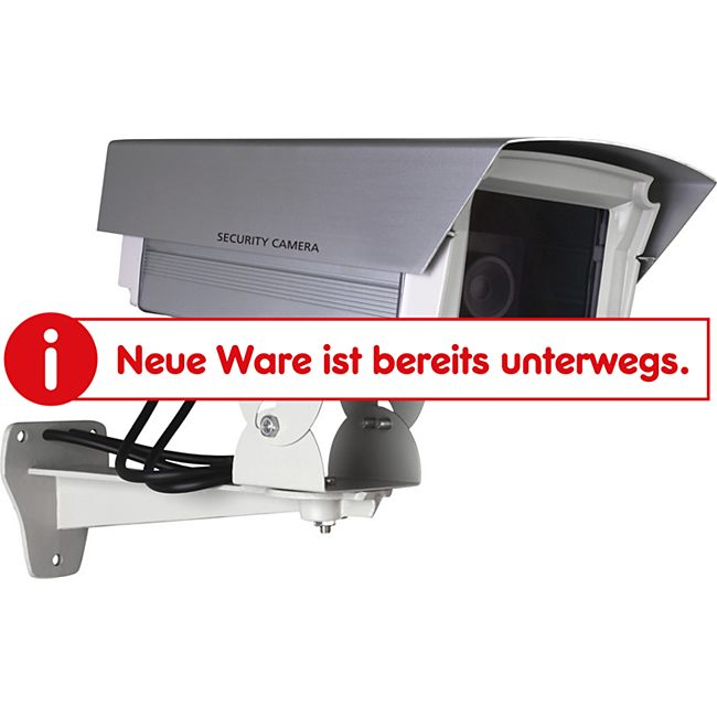 Smartwares Kamera Attrappe mit blinkender LED - Bild 1