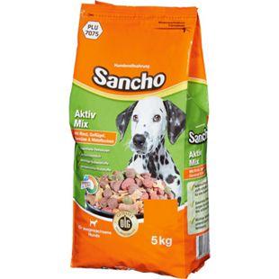 Sancho Aktiv-Mix mit Rind, Geflügel, Gemüse & Maisflocken 5kg - Bild 1