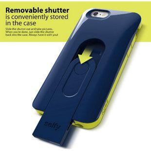 iLuv Selfy für iPhone 6 Case mit Bluetooth Fernbedienung für Fotos und Videos - blau - Bild 1