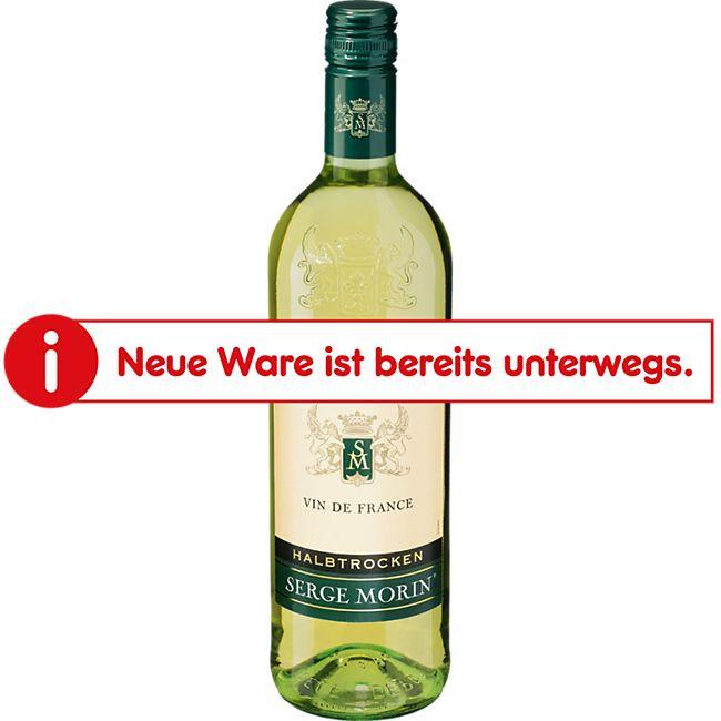 Serge Morin Vin de France Blanc 11,5 % vol 1 Liter - Bild 1