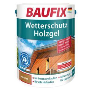 BAUFIX Wetterschutz-Holzgel eiche hell 5 L - Bild 1