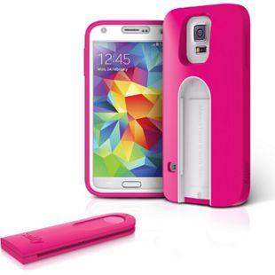 iLuv Selfy Samsung Galaxy S5 Case mit Bluetooth Fernbedienung für Fotos und Videos - pink - Bild 1