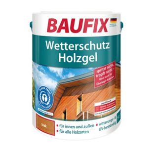 BAUFIX Wetterschutz-Holzgel teak - Bild 1
