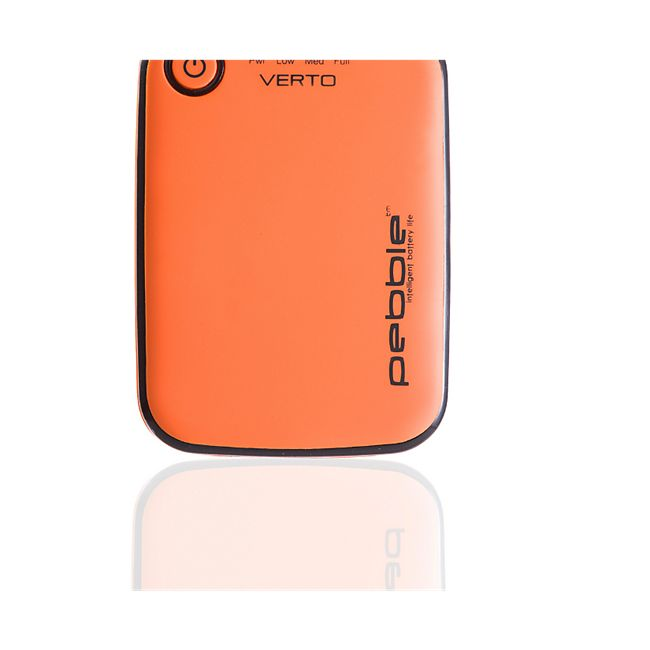 VEHO Pebble VERTO 3700 mAh Powerbank - orange - Bild 1