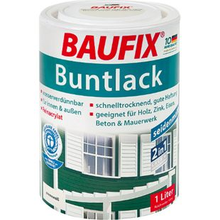 BAUFIX Buntlack seidenmatt nussbraun - Bild 1