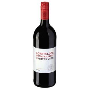 Dornfelder Spätburgunder Rotwein QbA 12,5 % vol 1 Liter - Bild 1