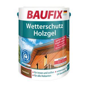 BAUFIX Wetterschutz-Holzgel, nussbaum - Bild 1