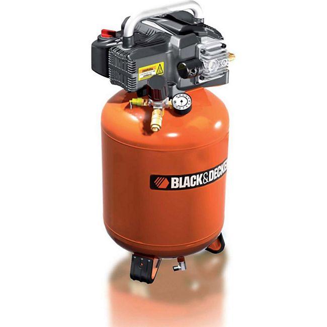 Black & Decker Kompressor mit 24 Liter Tank ölfrei - BD 195/24V - Bild 1