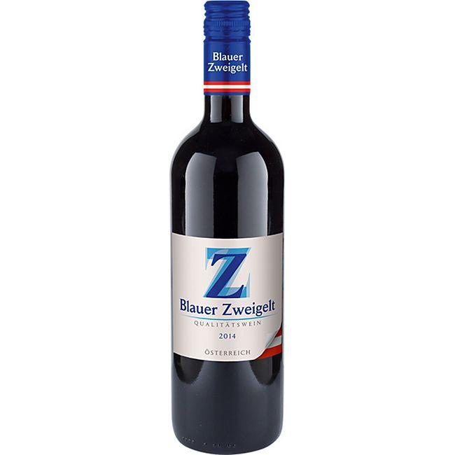 Blauer Zweigelt Qualitätswein Österreich 12,0 % vol 0,75 Liter - Bild 1