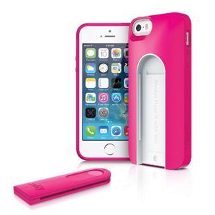 iLuv Selfy für iPhone 5/5s Case mit Bluetooth Fernbedienung für Fotos und Videos - pink - Bild 1