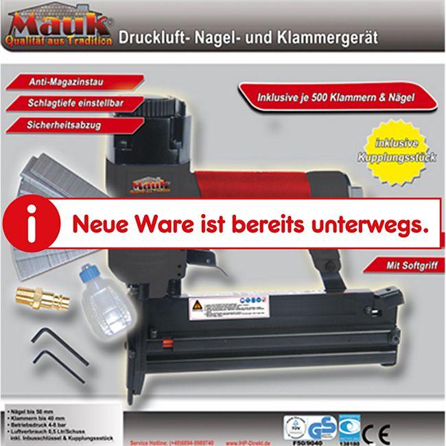 Mauk Druckluft Nagel- und Klammergerät - Bild 1