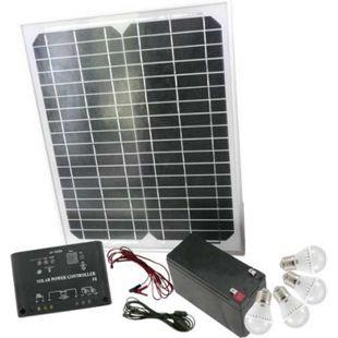 Mauk High-Tech Solar-Set 15 W mit Klickschaltern - Bild 1