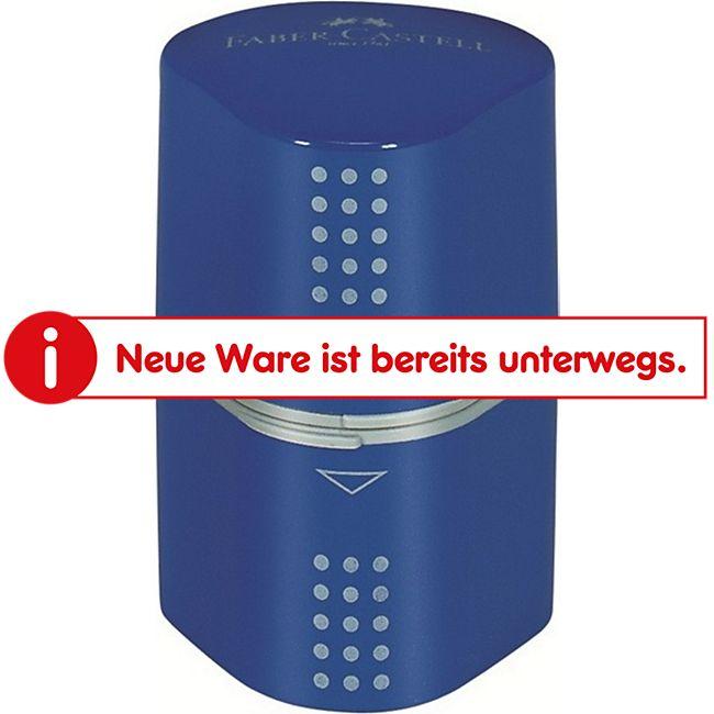 Faber Castell - Dreifachspitzdose Colour Grip 2001 - Blau - Bild 1