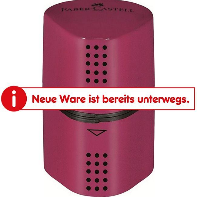 Faber Castell Dreifachspitzdose - Colour Grip 2001 - Rot - Bild 1