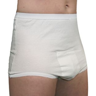 Hydas Inkontinenz-Bw-Schutzhose, knöpfbar BW gewirkt - Bild 1