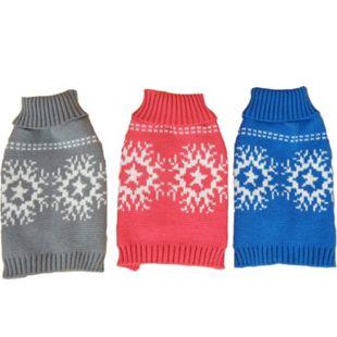 Pullover Schneeflocke - Bild 1