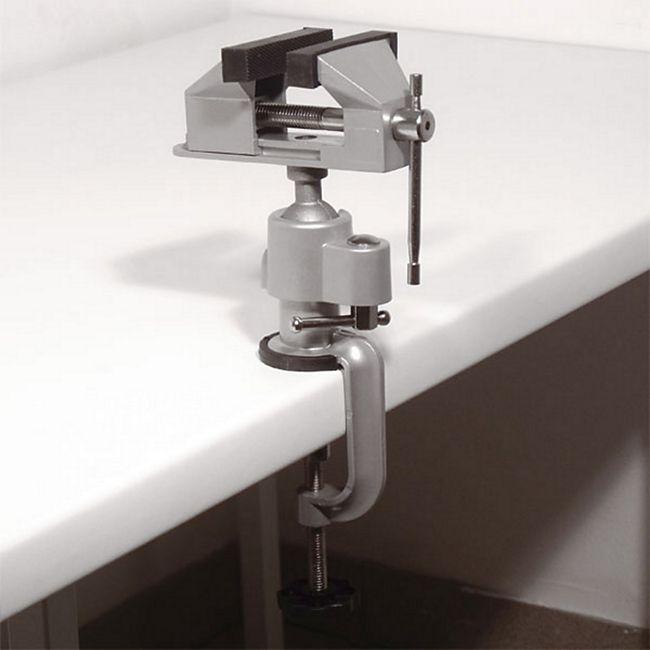 Feinmechaniker Schraubstock 360° 45° neigbar - Bild 1
