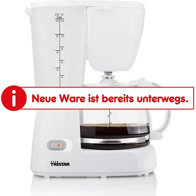 Tristar Kaffeemaschine für 10-12 Tassen, weiß - Bild 1