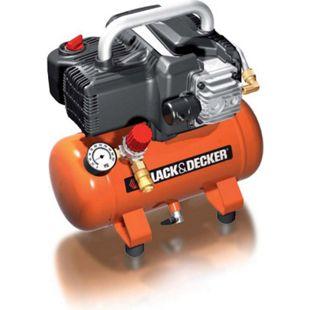 Black & Decker BD 195/6 NK Kompressor mit 6 Liter Tank ölfrei - Bild 1