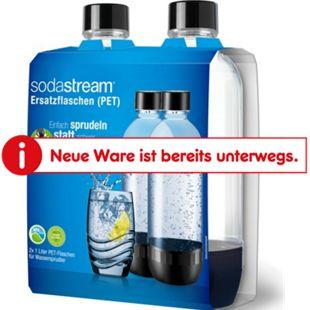 Duo-Pack PET Flasche 1 Liter schwarz - Bild 1