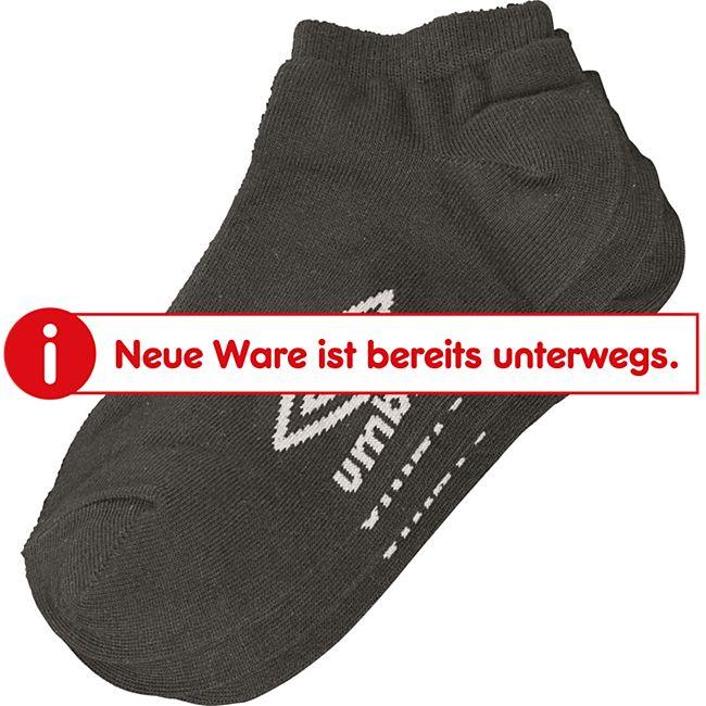 Umbro Sneaker Socken, 3er Schwarz, 39-42 - Bild 1