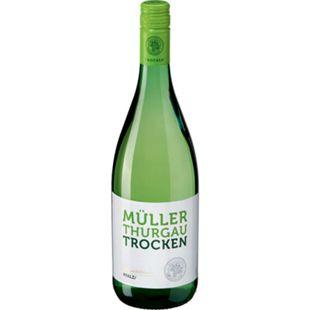 Müller Thurgau QbA trocken 11,0 % vol 1 Liter - Bild 1