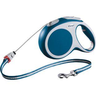 Flexi Comfort, Gr. M, Seilleine 8m, für Hunde bis 20 kg, blau - Bild 1