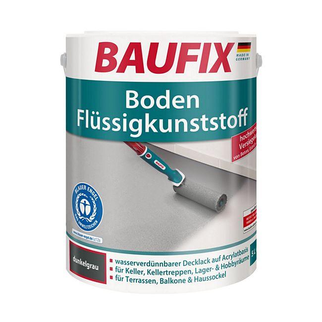BAUFIX Boden-Flüssigkunststoff dunkelgrau - Bild 1