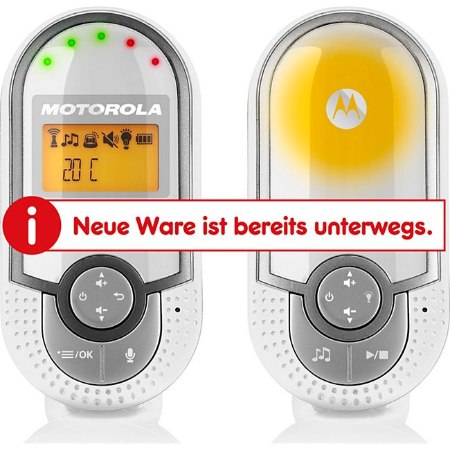 Motorola Digitales Audio Babyfon MBP16 - Bild 1