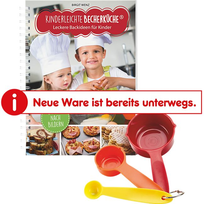 """Backhilfe """"Kinderleichte Becherküche"""" Set 4-tlg. - Bild 1"""