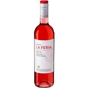 La Feria Rioja Rosado DOC 13,0 % vol 0,75 Liter - Bild 1