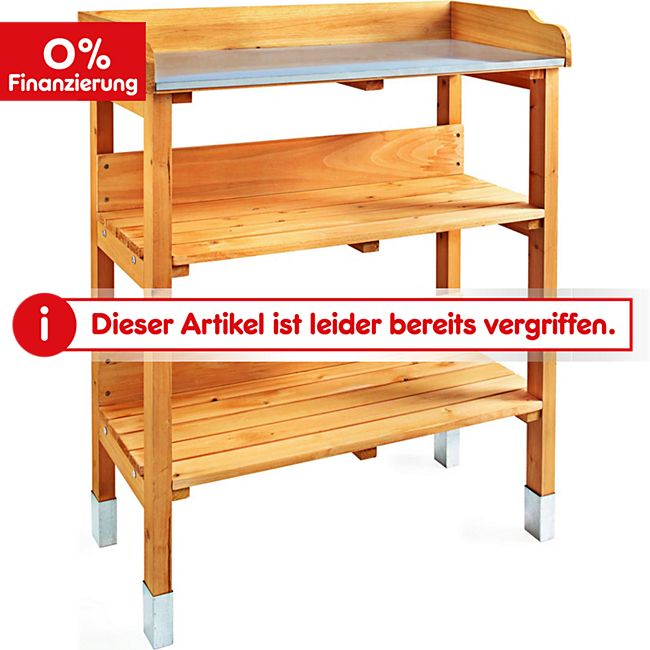 living garden gartenarbeitstisch online kaufen netto. Black Bedroom Furniture Sets. Home Design Ideas