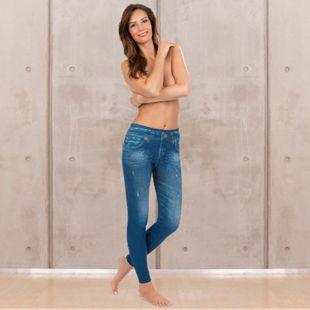 SLIMmaxx Jeans-Leggings 2er-Set schwarz/blau Gr. 38/40 - Bild 1