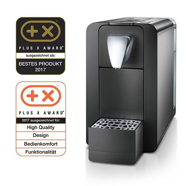 Cremesso Compact One II - Kaffee- und Tee-Kapselmaschine, schwarz - Bild 1