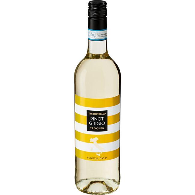San Mondello Pinot Grigio Venezia DOP 12,0 % vol 0,75 Liter - Bild 1