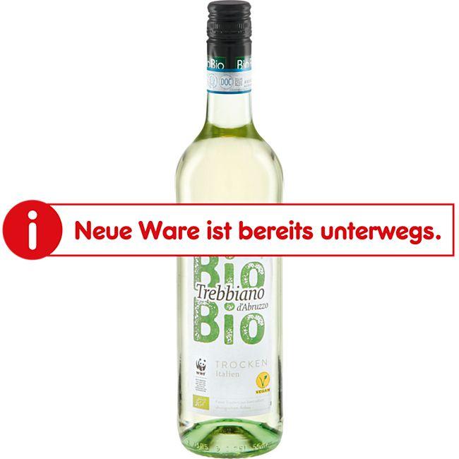 Bio Trebbiano d´Abruzzo DOC trocken 11,0 % vol 0,75 Liter - Bild 1