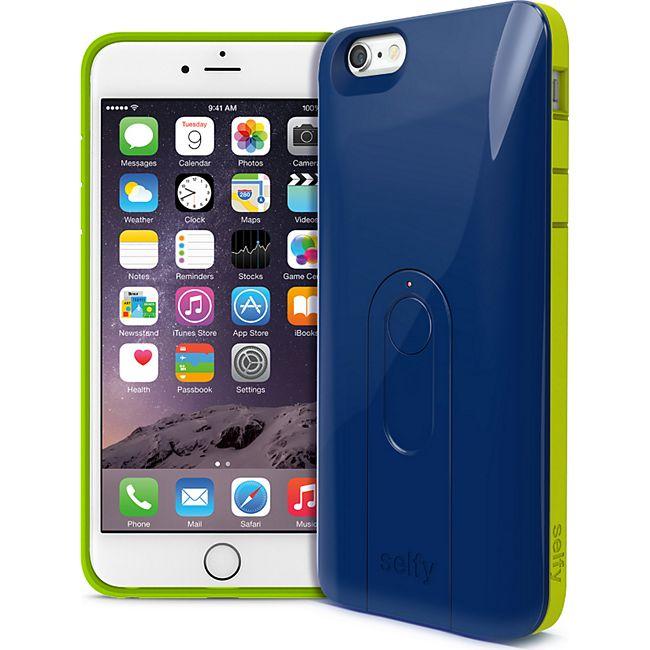 iLuv Selfy für iPhone 6 PlusCase mit Bluetooth Fernbedienung für Fotos und Videos -blau - Bild 1