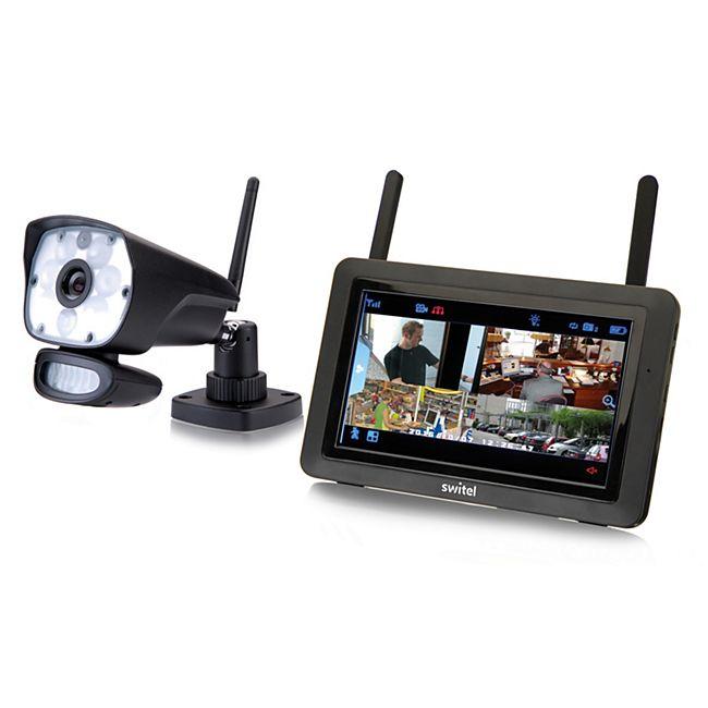 Switel HSIP 6000 digitales Funküberwachungssystem mit LED-Licht - 1 Kamera - Bild 1