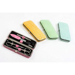 Ambassador Manicure-Etui Candy 5-teilig grün - Bild 1