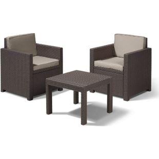 Balkon Lounge Set Victoria braun - Bild 1