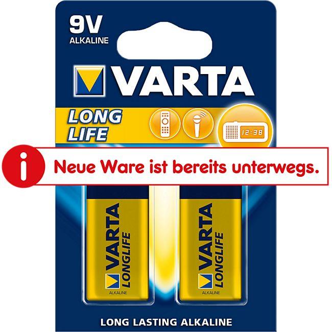 Varta Longlife Batterien - 9V 2er - Bild 1