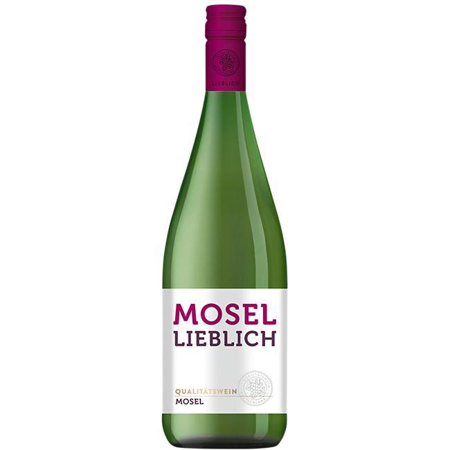 Mosel Qualitätswein 9,5 % vol 1 Liter - Bild 1