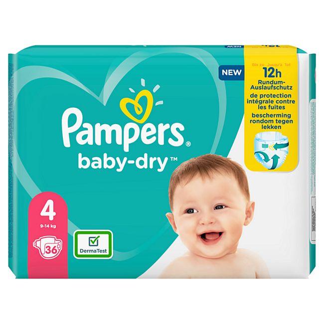 pampers baby dry gr 4 maxi 8 16kg sparpack 34 windeln. Black Bedroom Furniture Sets. Home Design Ideas
