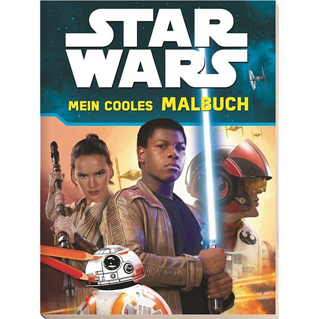 Die Eiskönigin und Star Wars Mal- und Stickerbücher - Bild 1